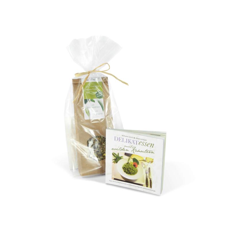 Geschenk-Tee + Kräuterbüchlein [-20%]