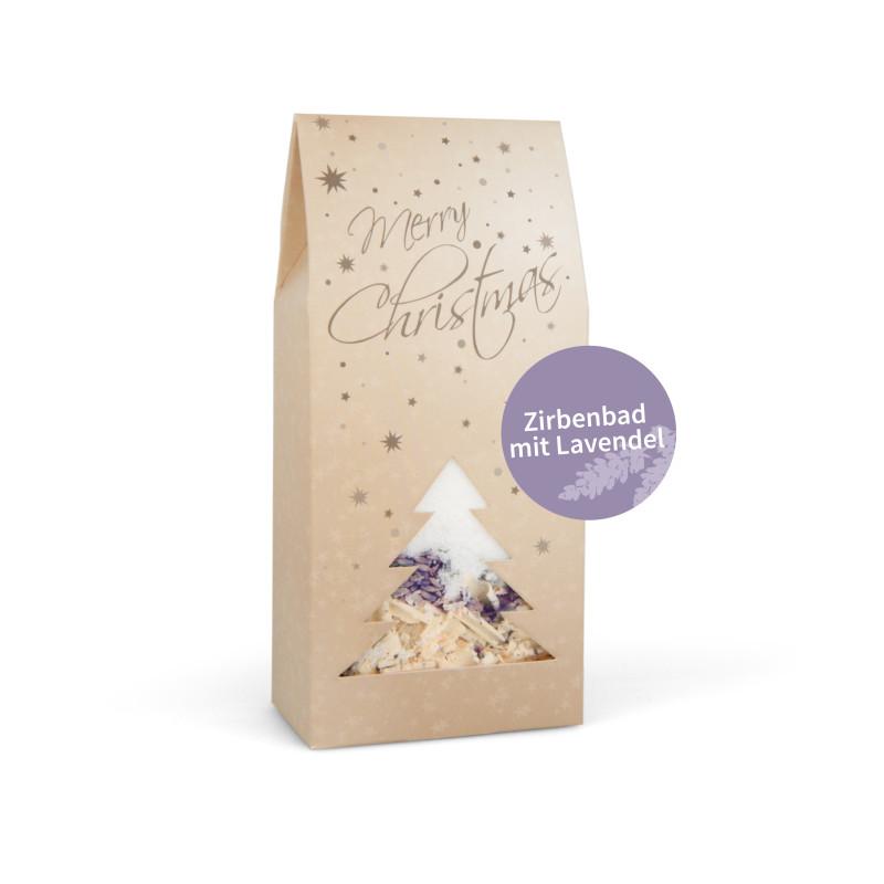 Weihnachtsbad Lavendel-Zirbe 200g