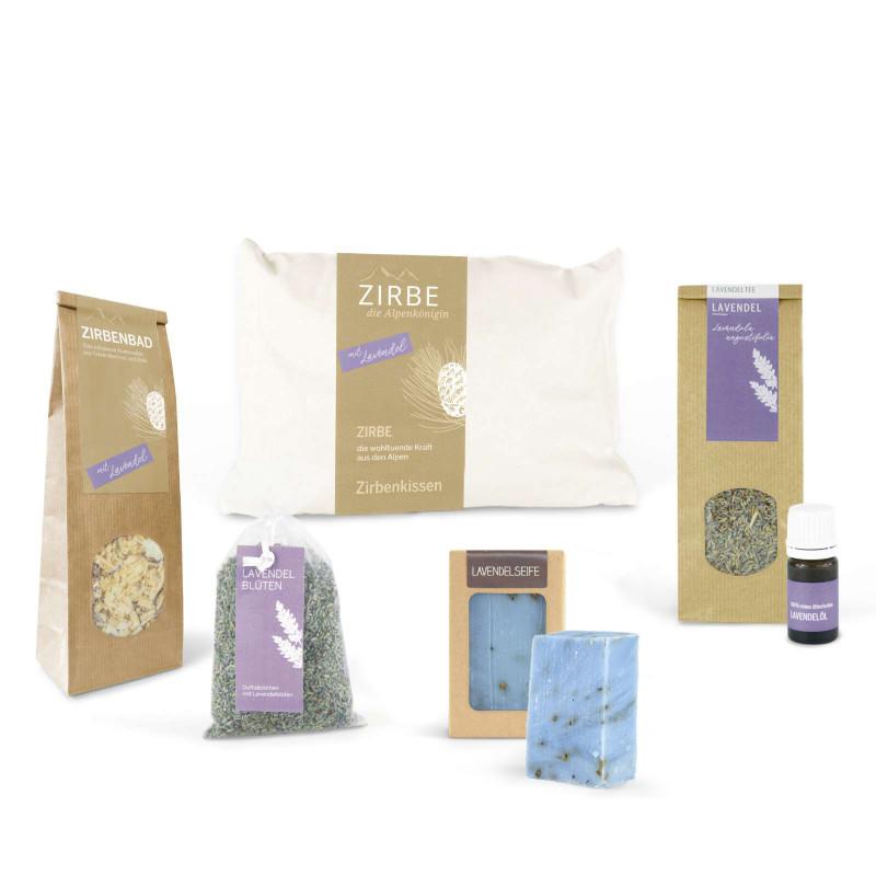 Lavendel Geschenkkarton