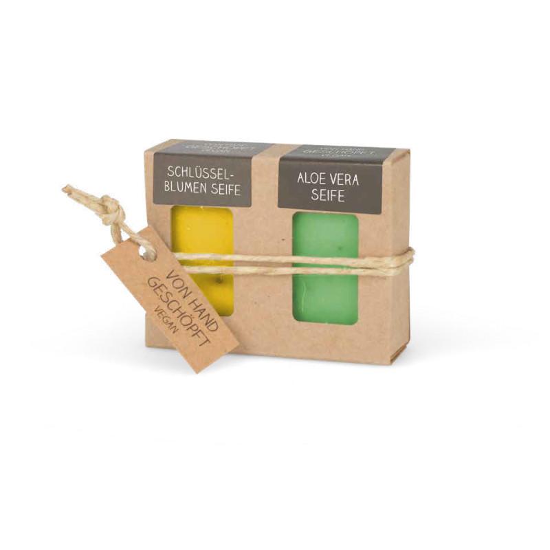 Mini-Seifen 2er-Set Frühling (2 x 25 g = 50 g Seife)
