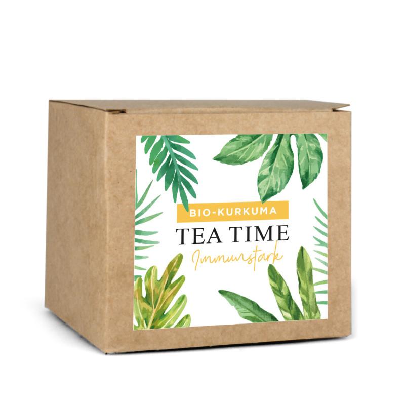 BIO-Tee-Sortiment (3 x 16 St.: Kurkuma, Früchte, Grüntee) DE-ÖKO-006
