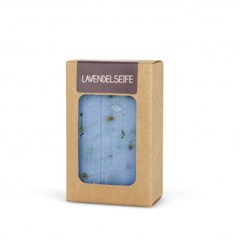 Lavendel Seife 100g handgeschöpft