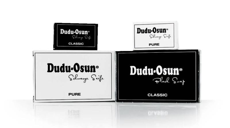 Dudu-Osun PURE schwarze Seife aus Afrika 150g parfümfrei