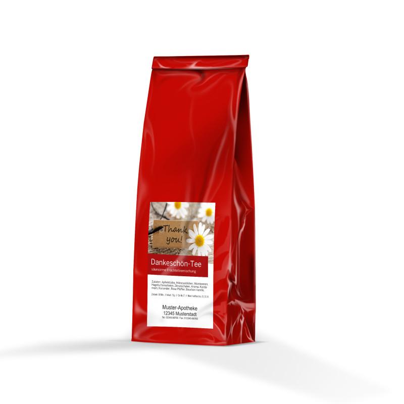 Dankeschön-Tee