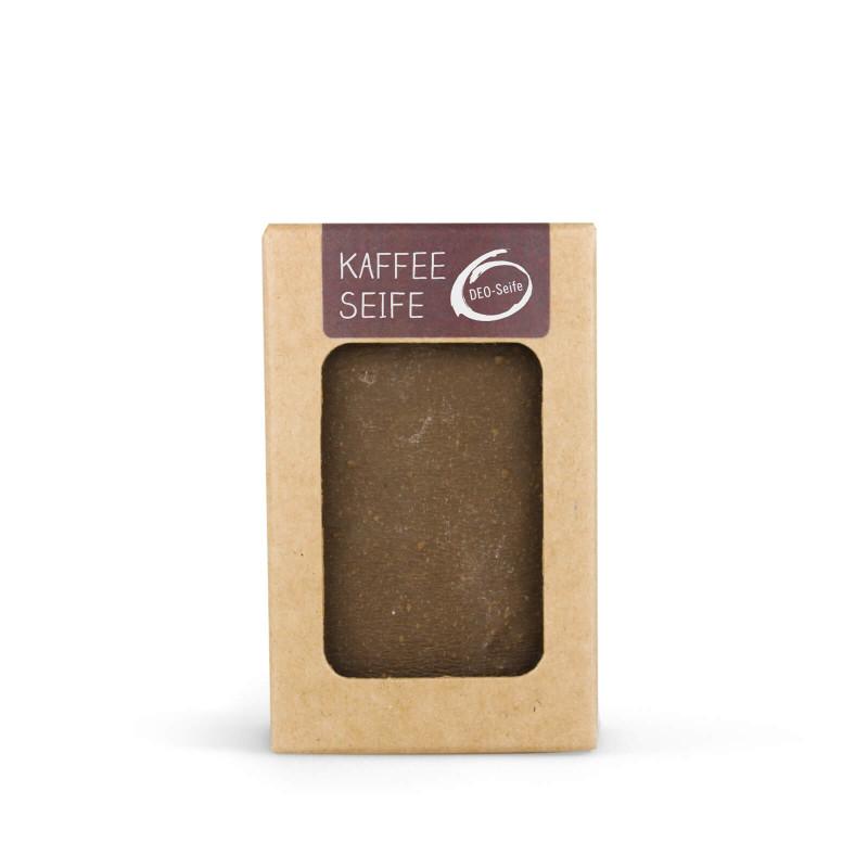 Kaffee Seife 100g handgeschöpft