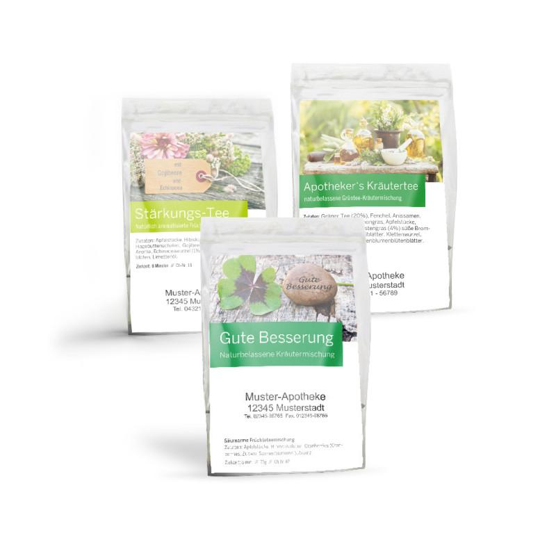 Tee-Probensortiment (mit 3 Sorten)